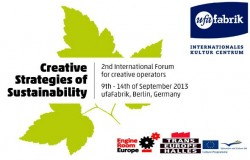 Think green: Invitation to Creative Strategies of Sustainability in ufaFabrik