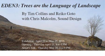Eden3: Trees are the language of landscape exhibition image